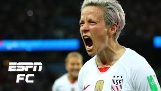 Megan Rapinoe 'huge' for USWNT, and Jill Ellis' decisions pay off vs. France | Women's World Cup
