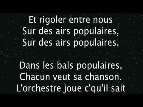 Les bals populaires Michel Sardou
