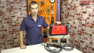 видео Сварочный инвертор Fubag IR 220  Тест на максимальный ток