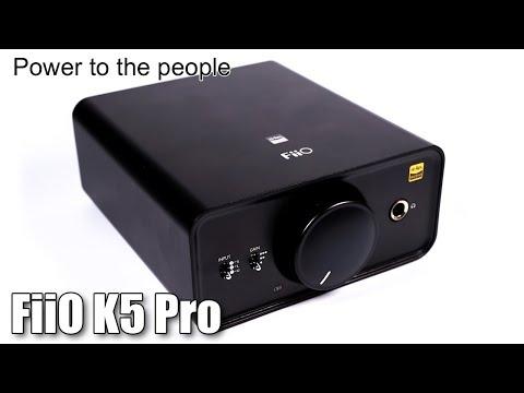 FiiO K5 Pro DAC And Headphone Amplifier Review