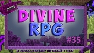 Выживание в Майнкрафт с модом Divine RPG 1.7.10 #35