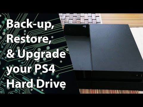 PS4: How to Backup, Upgrade, & Restore your Hard Drive — Step by Step