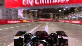 f1 2015 ps4 singapore gp quick race mclaren honda hard ai