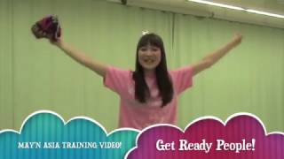 「XYZ」「Get Ready」「May'n☆Space」振付け動画