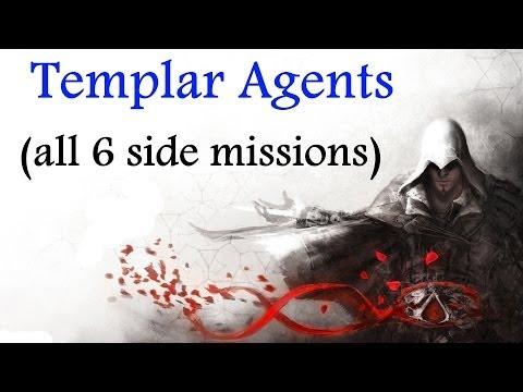 """Assassin's Creed: Brotherhood"", walkthrough (100% sync), All 6 ""Templar Agent"" assignments"
