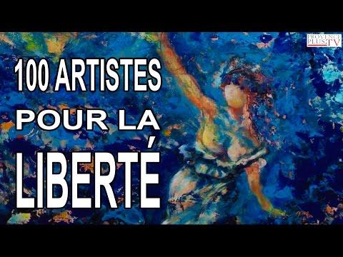 L'exposition 100 Artistes pour la Liberté
