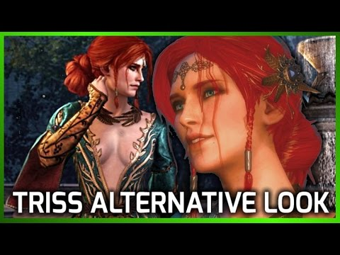 Witcher 3 Triss Merigold Alternative Look Free Dlc Preview Youtube