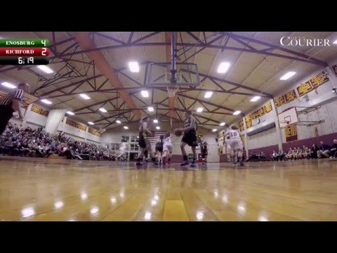 GIRLS BASKETBALL: Richford vs Enosburg