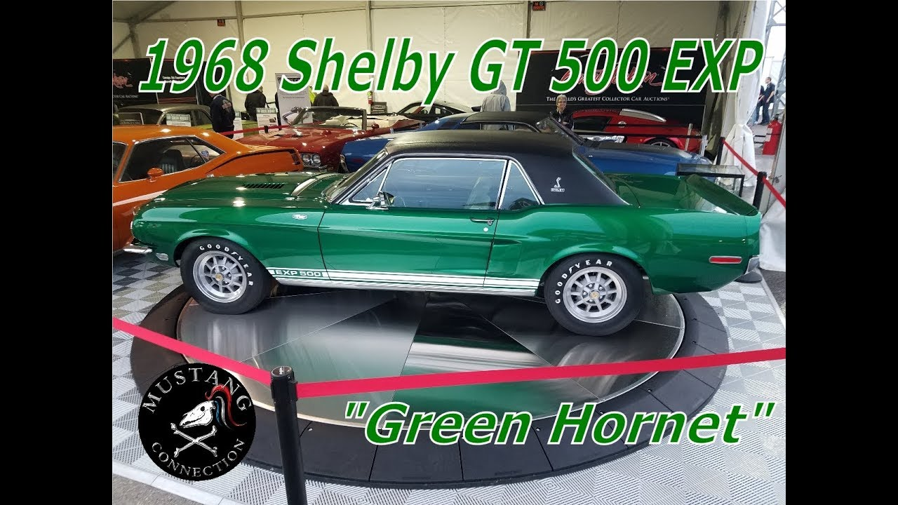 1968 shelby gt500 exp the green hornet freshly restored by craig jackson