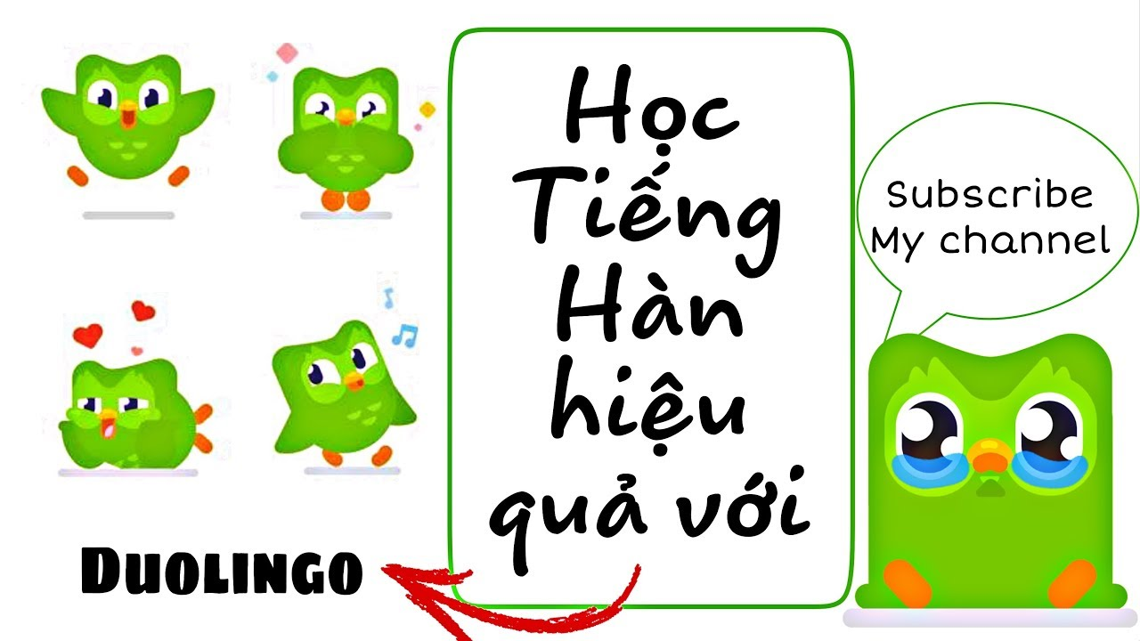 [Study Korean] Học tiếng Hàn hiệu quả với Duolingo- Sol Võ
