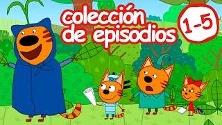Kid-E-Cats en Español | Сolección (Capítulos 1-5) Dibujos Animados Para Niños