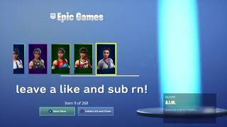 How to get *everything* in fortnite using Jensen Snow's DNS server