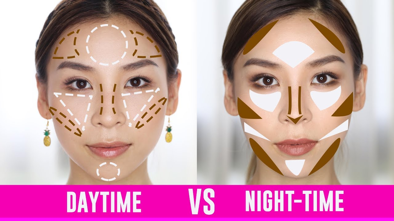 Daytime VS Night-Time Contouring