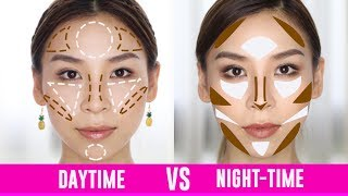 How to Contour for Day and Night-Time