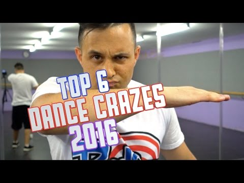 TOP 6 DANCE CRAZES OF 2016 🕐 Moves In Minutes