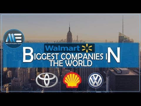 top 7 biggest companies in the world /multi billion dollar companies