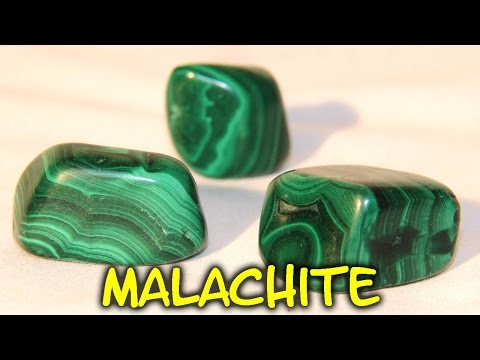 Healing Crystals - Malachite
