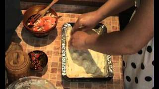 Russian Dish - Fish Pie With Salmon