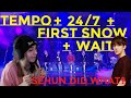 0xFESTA with EXO #3 LIVE - TEMPO, 24/7, First Snow, Wait | REACTION