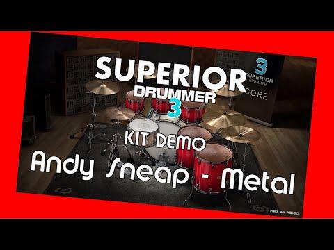 SUPERIOR Drummer 3 - Demo Andy Sneap - Metal / Preset overview TOONTRACK