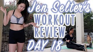 Wasn't Really Feeling It... | Jen Selter Workout Challenge Day 18 | Fitplan App