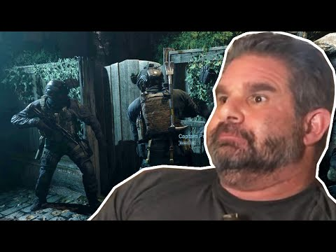 "Dad Reacts To Modern Warfare ""Clean House"" & Butcher Interrogation Scene"