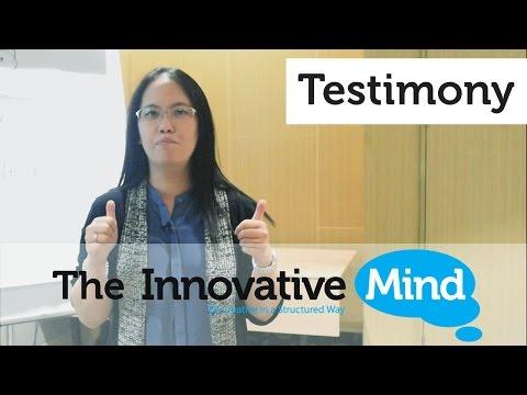 """Testimony """"The Innovative Mind"""""""