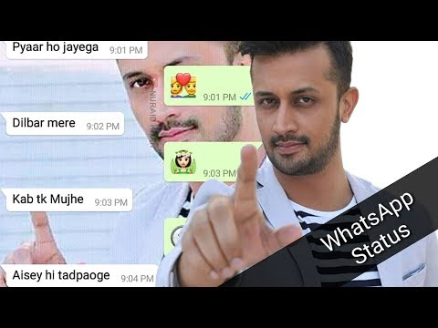 Atif Aslam Creative WhatsApp Status   Nuraid Khan