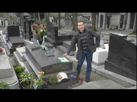 Tombe d'Edith Piaf au cimetière du Père Lachaise