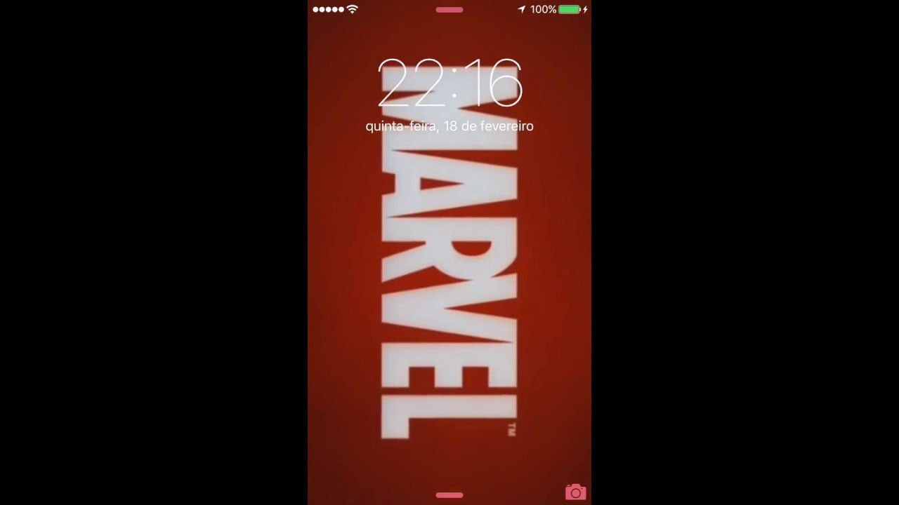 How To Make Live Wallpaper Iphone X Wallpaper Com Live Photo Da Marvel Youtube