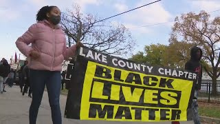 Protest held Saturday after Waukegan officer fatally shoots 19-year-old, injures 20-year-old