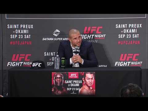 UFC Fight Night Japan: Gokhan Saki - 'I Feel the Difference' Between Kickboxing & MMA