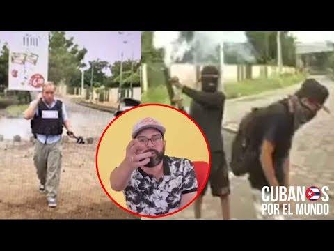 Otaola muestra un video como, aparentemente, Radio y Televisión Martí fabrica una Fake News