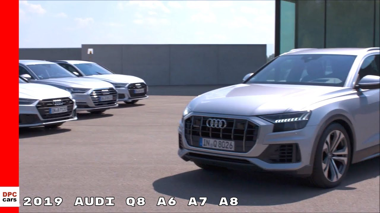 Audi Full Size Class Lineup Q A A A YouTube - Audi car lineup