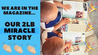 Our Miracle Story Got Publishe…