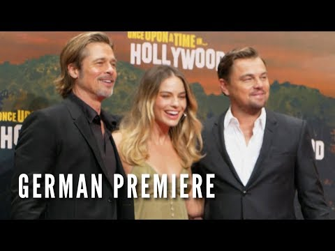 ONCE UPON A TIME IN HOLLYWOOD - German Premiere - YouTube