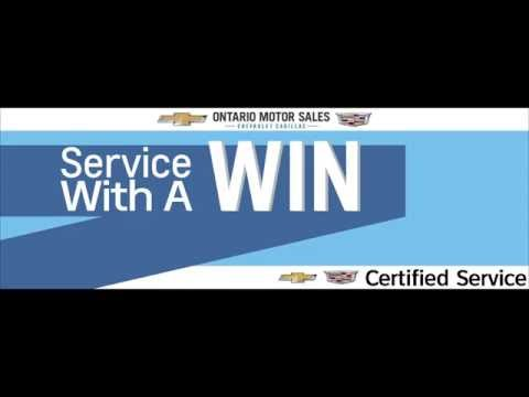 Service With a Win at Ontario Motor Sales