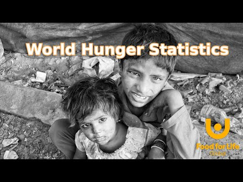 World Hunger Statistics in 2 minutes