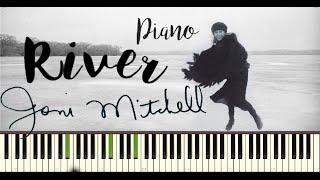 RIVER ~ JONI MITCHELL ( Piano instrumental )