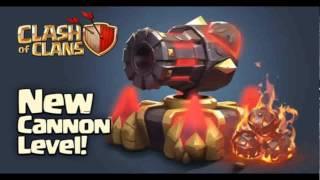 Cañón Nivel 13 - Nueva actualización Febrero 2015 | Clash of Clans
