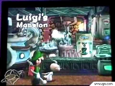 The Ghost Machine Luigi S Mansion E3 2001 Youtube