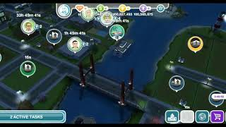 THE SIMS FREEPLAY MODED ACCOUNT