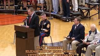 Elizabethton High School Veterans Day Ceremony