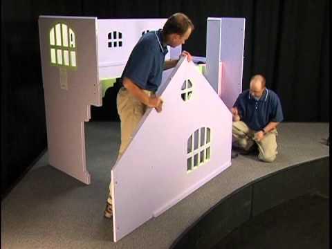 Tradewins Dollhouse Assembly  YouTube