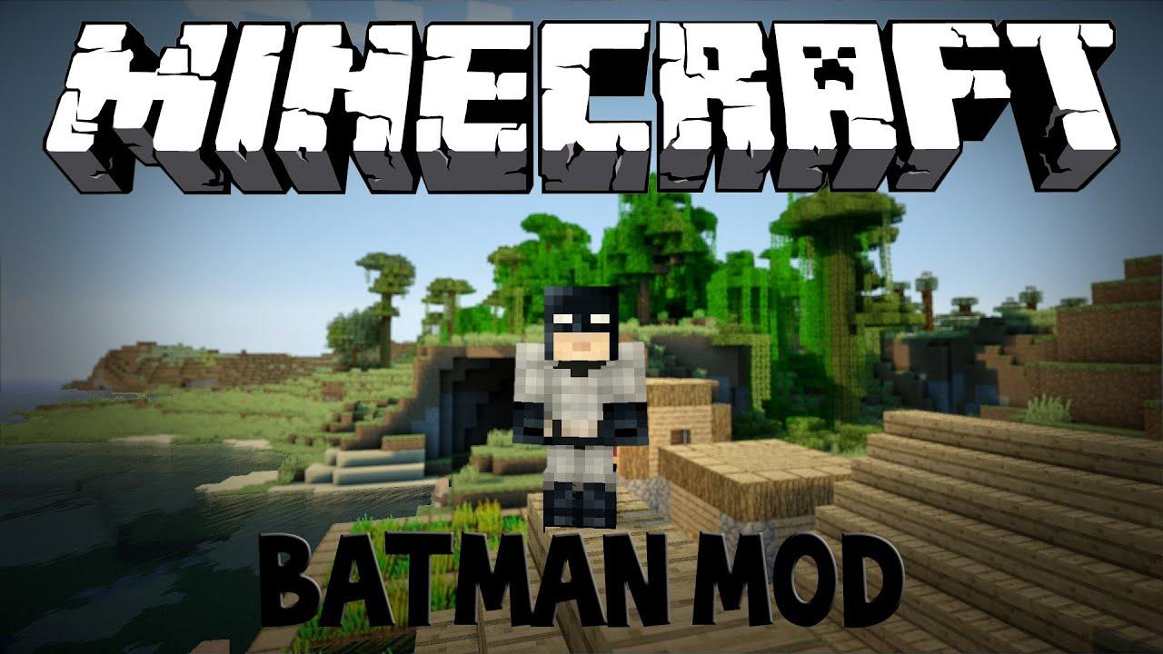 Minecraft BATMAN MOD - YouTube