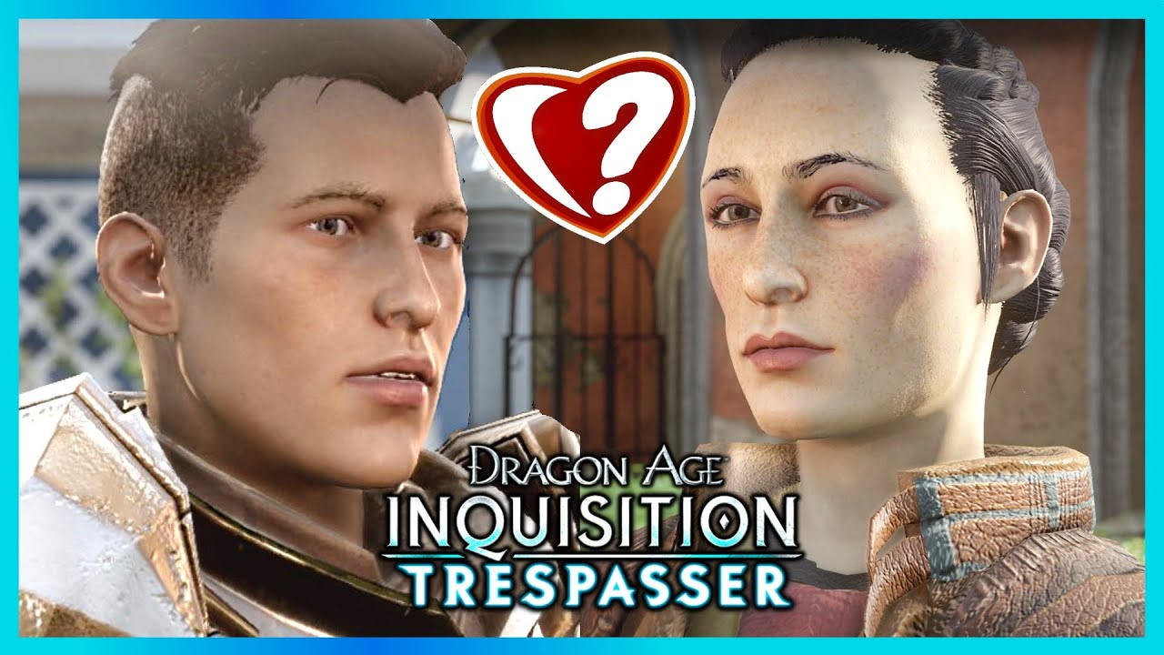 Dragon age inquisition the ideal romance