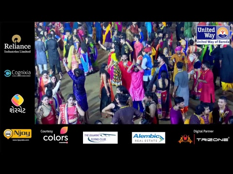United Way Baroda - Garba Mahotsav By Atul Purohit - Day 7- Live Stream