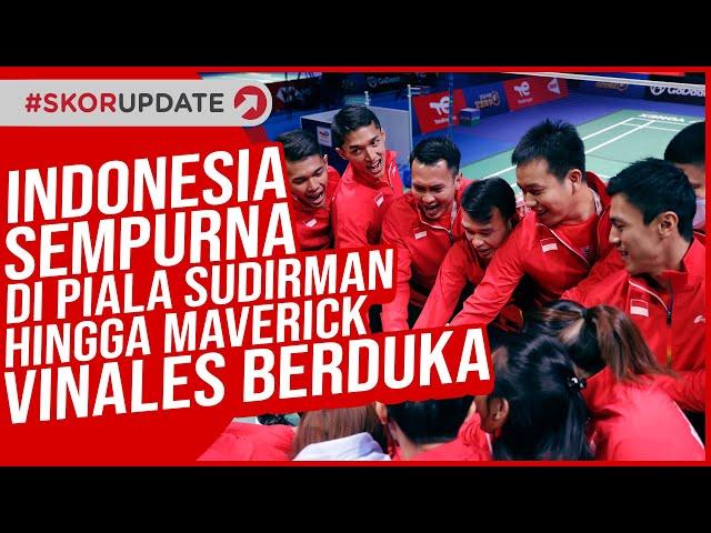 Indonesia Raih Hasil Sempurna di Piala Sudirman 2021