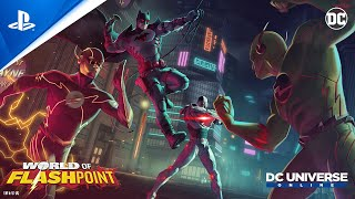 DC Universe Online: World of Flashpoint - Launch Trailer | PS4