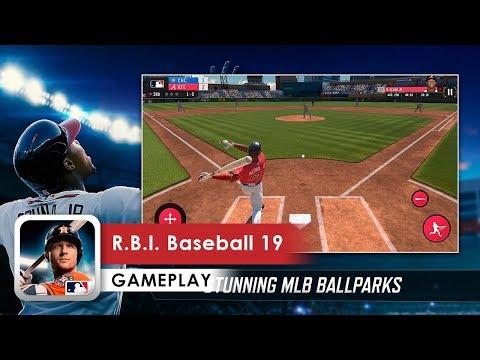 R.B.I. Baseball 19 Gameplay HD (iOS & Android)